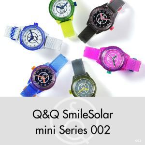お取り寄せ Q&Q キューアンドキュー Smile Solar mini スマイルソーラー ミニ シチズン 腕時計 レディース 10気圧防水 SS2|e-bloom