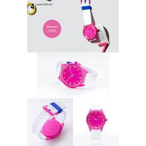 お取り寄せ Q&Q キューアンドキュー Smile Solar スマイルソーラー シチズン 腕時計 ユニセックス 5気圧防水 SS3 e-bloom 06