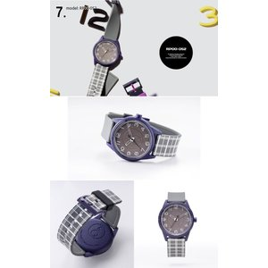 お取り寄せ Q&Q キューアンドキュー Smile Solar スマイルソーラー シチズン 腕時計 ユニセックス 5気圧防水 SS3 e-bloom 09