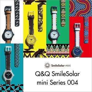お取り寄せ Q&Q キューアンドキュー Smile Solar mini 004 スマイルソーラーミニ CITIZEN シチズン エキゾチック 腕時計 レディース SS5|e-bloom