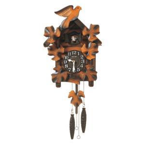 リズム時計 掛け時計 鳩時計 カッコークロック リズム時計 カッコーメイソンR 4MJ234RH06 e-bloom