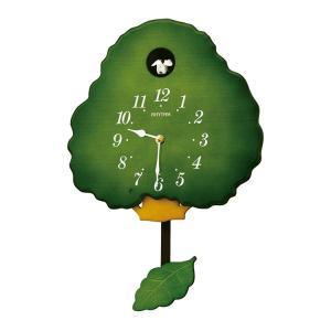 リズム時計 カッコー時計 鳩時計 グレイスカッコー413R 4MJ413RH05 e-bloom