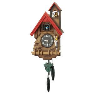リズム時計 掛け時計 カッコー時計 鳩時計 カッコーチロリアンR 4MJ732RH06 e-bloom