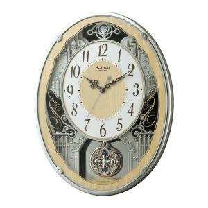 からくり時計 リズム時計 掛け時計 メロディクロック スモー...