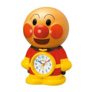 リズム時計 アンパンマン 目覚まし時計 キャラクタークロック 4SE552-M06|e-bloom