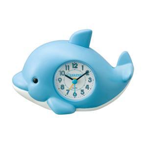 目覚まし時計 起きてイルカ?SR 4SE553SR04 リズム時計|e-bloom