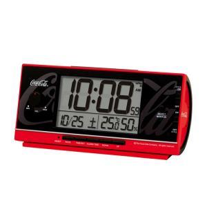セイコー SEIKO 目覚まし時計 置き時計 電波時計 コカコーラ 大音量 おもしろサウンド デジタル AC602R インテリア時計 お取り寄せ e-bloom