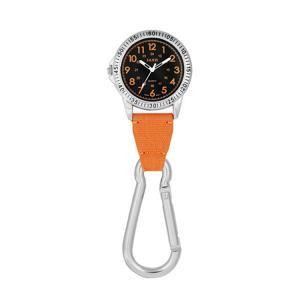 J-AXIS カラビナ 時計 クリップ ホルダー オレンジ SCP37-OR フックウォッチ|e-bloom