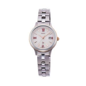 オリエント イオ ORIENT iO ナチュラル&プレーン ライトチャージ 光充電 ピンク 赤 レッド RN-WG0006P レディース 腕時計 取り寄せ e-bloom