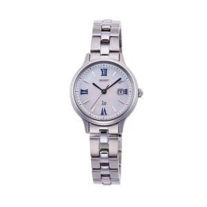 オリエント イオ ORIENT iO ナチュラル&プレーン ライトチャージ 光充電 ブルー 青 RN-WG0007A レディース 腕時計 取り寄せ e-bloom