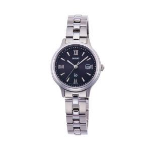 オリエント イオ ORIENT iO ナチュラル&プレーン ライトチャージ 光充電 黒 ブラック シック RN-WG0008B レディース 腕時計 取り寄せ e-bloom