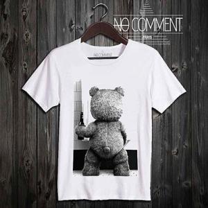 (正規品)NO COMMENT PARIS - funny Ted [ノーコメントパリ - ファニー・テッド]  (T-シャツ)(通販)|e-bms-store