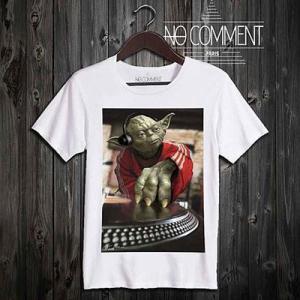 (正規品)NO COMMENT PARIS - YODA DJ [ノーコメントパリ - ヨーダ・DJ(ディージェイ)] (T-シャツ)(通販)|e-bms-store