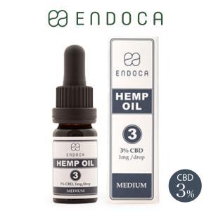 CBD オイル 300mg 容量10ml 濃度3% ENDOCA エンドカ oil 高濃度 不眠 ス...