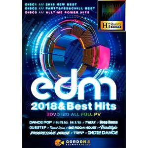 (洋楽DVD)3枚組!EDMウルトラ・ベスト! EDM 2018 & Best Hits - Gordon S Films (国内盤)(3枚組)|e-bms-store