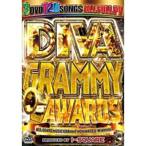 グラミー アワード ベスト 超スーパーヒットPV大収録 洋楽DVD DIVA GRAMMY AWARDS - I-SQUARE 3DVD 国内盤 3枚組