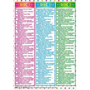 洋楽DVD 3枚組 119曲 2019年サマー セクシー 決定版 2019 SUMMER SEXY DYNAMITE GALA&BOYS - ELEGANT DJS 3DVD 国内盤|e-bms-store|02