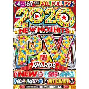 洋楽DVD 4枚組 ALLフルPV 2020 New No.1 PV Awards - DJ Beat Controls 4DVD