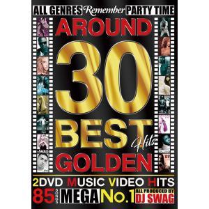 洋楽 DVD アラサー世代ドンズバ 2枚組 85曲 AROUND 30 BEST HITS GOLDEN - DJ SWAG 2DVD