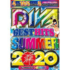 洋楽 DVD 4枚組全165曲 DIVAサマーベストが満を持して登場 DIVA BEST HITs SUMMER 2020 - I-SQUARE 4DVD