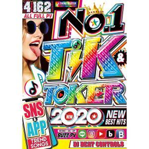 洋楽 DVD 4枚組フルPV アガって踊れて超楽しすぎる TikTok完全マスター No.1 Tik & Toker 2020 - DJ Beat Controls 4DVD