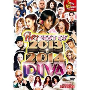 2013年鉄板HITからHIT確定新譜まで2014年突入型DVD! RE: DIVA BEST OF 2013-2014 - I-SQUARE (国内盤)(洋楽DVD)(3枚組)|e-bms-store