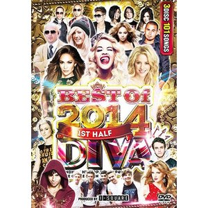 DIVA BEST OF 2014 1ST HALF - I-SQUARE (国内盤)(3枚組)(洋楽DVD)(MIXDVD)(MIXCD)(再入荷)|e-bms-store