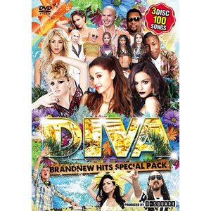 イチバン売れてるキング・オブ・DVD! DIVA - BRANDNEW HITS SPECIAL PACK - (3枚組) - I-SQUARE (国内盤)(洋楽DVD)(3枚組)|e-bms-store