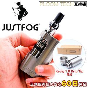 プルームテック カプセル対応 電子タバコ JustFog Q14 フルパッケージスターターキット + Kamry Kecig 1.0 ドリップチップ Ploom TECH 互換機 e-bms-store