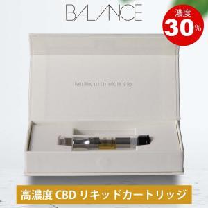CBD リキッド 30% 高濃度 国産 電子タバコ BALANCE CBD liquid Cartridge アイソレート ベイプ VAPE オイル バランス