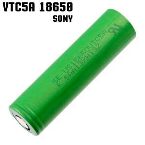 18650 バッテリー ソニー Sony VTC5 18650 2600mAh 充電可能 MOD VAPE 電子タバコ 電池 メーカー正規品