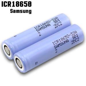 電子タバコ 推奨バッテリー Samsung ICR18650 3200mAh 32A サムスン 充電可