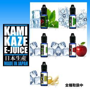 KAMIKAZE E-JUICE - ミント・メンソール系(15ml) (リキッド)(電子たばこ / VAPE)(カミカゼ)