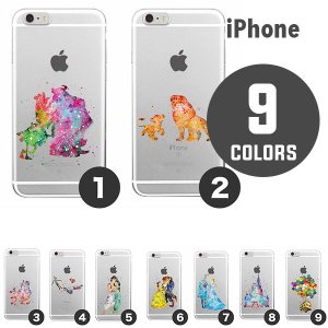 Watercolor Art 2 (水彩画シリーズ) - iPhone Case (ケース)(全9種) (iPhone 7 / 8 / X) e-bms-store