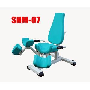 高齢者用油圧式リハビリ器具 SHM-07アダクション アブダクション デイサービス機能訓練に 往復抵抗|e-bodyfitness