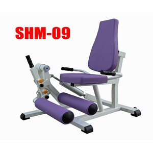高齢者用油圧式リハビリ器具 SHM-09 レッグエクステンション デイサービス機能訓練に 往復抵抗|e-bodyfitness