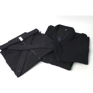 最高級正藍染二重剣道衣【背縫】 、最高級正藍染袴10000番のセットです。  こちらは、道着サイズ2...