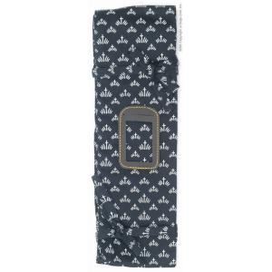 木綿製菖蒲 2本用薙刀袋   ※受注後取り寄せとなりますので、発送までに1週間程度お時間が掛かります...