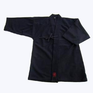 織刺ジャージ剣道衣(紺) サイズ0、1号|e-bogu