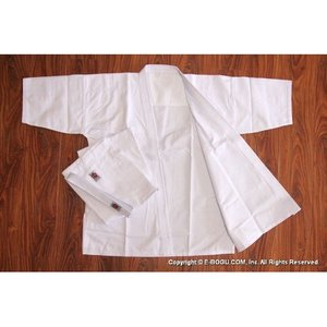 晒フルコン空手道衣セット(白) サイズ3〜4 【受注後取り寄せ商品】 e-bogu