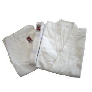 高級 綿100%空手道衣セット(白) サイズ000〜2