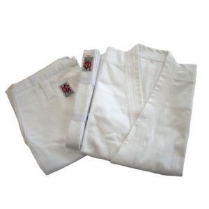 高級 綿100%空手道衣セット(白) サイズ3〜6