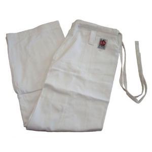 高級 綿100%空手道衣用ズボン(白) サイズ0〜1