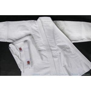 高級450G合気道衣セット(白晒) サイズ4〜6