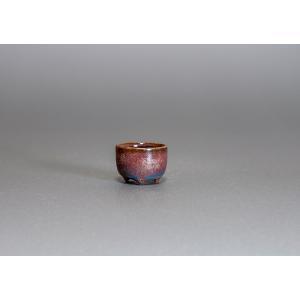プチ盆栽鉢 青銅マット釉 丸盆栽鉢 小鉢 小さな鉢  p0072|e-bonsai