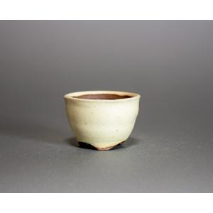 豆盆栽鉢 チタンマット釉丸盆栽鉢 小さな盆栽鉢 小鉢 p0200 e-bonsai