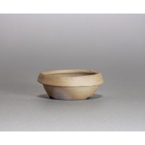 焼き締め鉢 盆栽鉢 盆栽小鉢 丸盆栽鉢 焼き締め盆栽鉢 y0007 e-bonsai