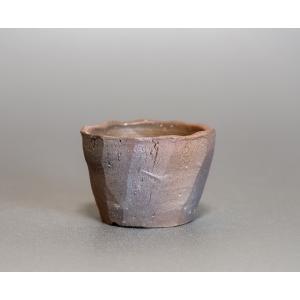 焼き締め鉢 盆栽鉢 盆栽小鉢 丸盆栽鉢 焼き締め盆栽鉢 y0017 e-bonsai