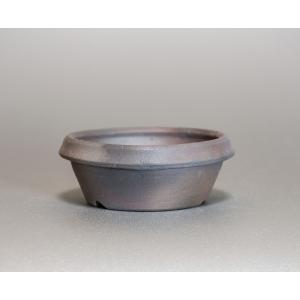 焼き締め鉢 盆栽鉢 盆栽小鉢 丸盆栽鉢 焼き締め盆栽鉢 y0025 e-bonsai