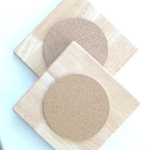 カトラリー 食器 キッチン 鍋置き 2個セット 木製コルクマット 角 鍋敷き e-businessnext